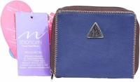 Monami Lifestyle 514 Women Casual Blue PU  Clutch