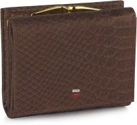 League Leather LL102/Dark Brown Clutch (Dark Brown)