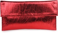 Do Bhai Festive Red Non-Leather  Clutch