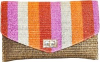 Women Trendz Women Party Multicolor Fabric  Clutch