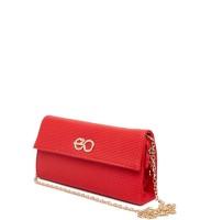 E2O Women Casual Red PU  Clutch