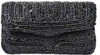 Mpkart Roller Zari Clutch (Black)