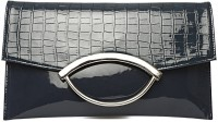 Wellworth Women Casual Blue Others  Clutch
