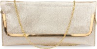 Do Bhai Festive, Party Gold Synthetic  Clutch