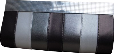 Spice Art Women Casual Silver Leatherette Clutch available at Flipkart for Rs.945