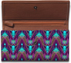 Lycans Casual, Party, Festive, Sports, Formal, Wedding Multicolor Genuine Leather, Canvas  Clutch