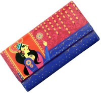 Mad(e) In India Multicolor PU-Leather  Clutch