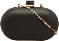 Identity Women Party Black Metal  Clutch