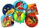 The Big Bag Theory Comic MDF Coaster Set - Pack Of 6
