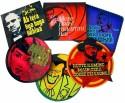 Roti Kapda Makaan Holly Bolly Acrylic Coaster Set - Pack Of 6
