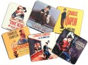 Eco Corner Charlie Chaplin Movies MDF Coaster Set - Pack Of 6