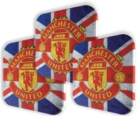 P.S. I Love You Manchester United Metal Coaster Set Pack of 3