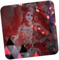 PosterGuy Square Wood Coaster Red, Purple, Pack Of 1