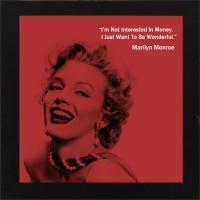 E-Studio Marilyn Monroe Wood Coaster (Pack Of 1)