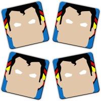 Get Fatang The Alien Wood Coaster Set (Pack Of 4)