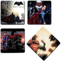 Bluegape Batman Avengers MDF Coaster Set - Pack Of 4