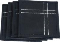 Frestol.com Plain Leather Coaster Set (Pack Of 4) - COAE5KRDCQTW4MRA
