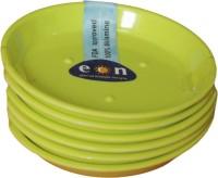 EON Round Melamine Coaster Set Light Green, Pack Of 6