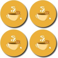 Shaildha Designer Medium Density Fibreboard Coaster Set Multicolor, Pack Of 4 - COAE6HUMEN7RWURV