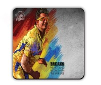 Get Fatang CSK Star Player Wood Coaster Multicolor, Pack Of 1