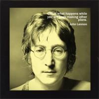E-Studio John Lennon Wood Coaster (Pack Of 1)