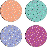 Sajawathomes Colorfull Pattern Set Of Four Design 56 Wood Coaster Set (Pack Of 4)