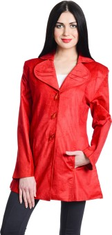 Fabric Ocean Round Lapel Women's Single Breasted Top Coat - CATE37D9K5VK892U