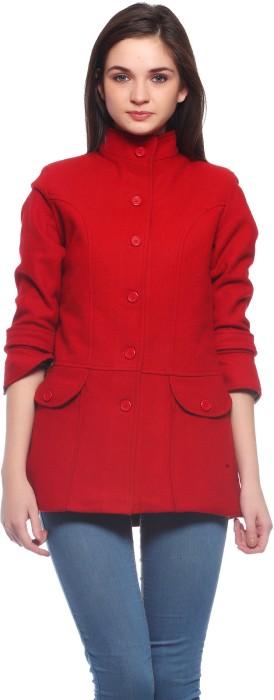 Ladybug Women's Single Breasted Overcoat Coat
