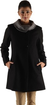 Owncraft Cool Women's Single Breasted Top Coat Coat