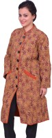 ChhipaPrints Women's Single Breasted Overcoat Coat - CATEFNPJRVBJMRBQ