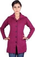 Montrex Women's Single Breasted Overcoat Coat - CATEFUJZEXUKKNG4