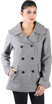 Owncraft Women's Double Breasted Pea Coat - CATECAV5BKTGGSCV