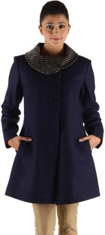 Owncraft Chic Women's Single Breasted Top Coat Coat