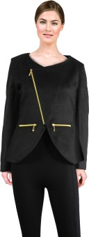 Lady Stark Desinger Black Coat Women's Double Breasted Top Coat Coat