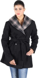Owncraft Women's Double Breasted Top Coat