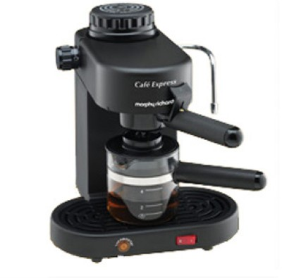 Buy Morphy Richards Cafe Express 4 Cups Coffee Maker: Coffee Maker