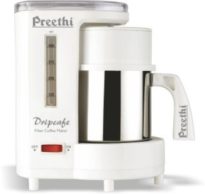 Preethi CM208 6 cups Coffee Maker (White)