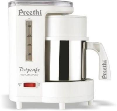 Preethi CM208 6 cups Coffee Maker (White)