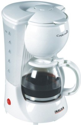 Inalsa Cafe Max 4 cups Coffee Maker (White)