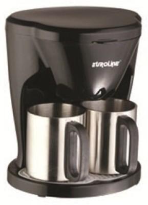 Euroline EL-1102 2 cups Coffee Maker (Black)