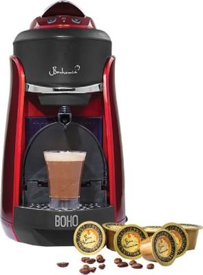 Bonhomia BB01RBF03B 1 cups Coffee Maker (Red)