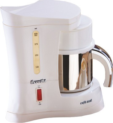 Preethi Zest White Coffee Maker (White)