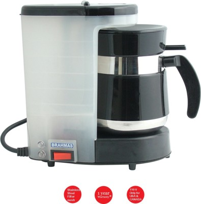 Brahmas PE 24 (only for USA & Canada) 15 cups Coffee Maker (Black)