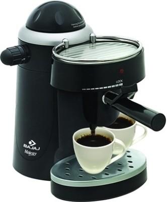 Bajaj Majesty CEX 10 Cappuccino 6 Cups Coffee Maker (Black)