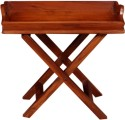 Saffron Wood Solid Wood Coffee Table (Finish Color - Natural Brown)
