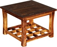 The Attic Solid Wood Coffee Table (Finish Color - Dual Tone)