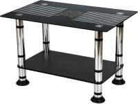 WOOD An WOOD Glass Coffee Table (Finish Color - Glossy)