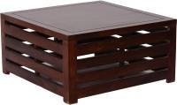 HomeEdge Solid Wood Coffee Table (Finish Color - MAHOGANY)