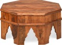 @home Solid Wood Coffee Table (Finish Color - Walnut)