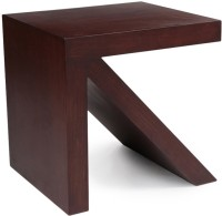 Saffron Wood Solid Wood Coffee Table (Finish Color - Dark Brown)